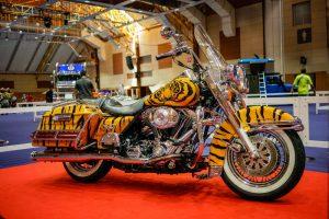 オリジナルのバイクにカスタム